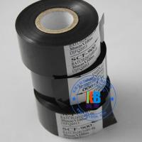 batch number printing 25mm*100m black hot stamping foil on food pharmaceutical package usage Manufactures