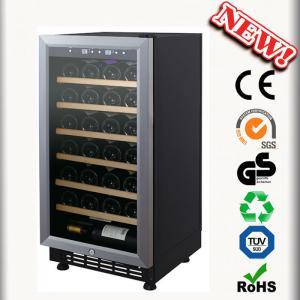 China 28 Bottles Wine Chiller Zanussi Compressor Wine Cooler on sale