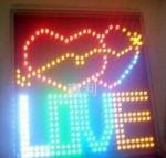 LED DIY Sign Board 24 X 24cm Manufactures