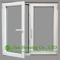 Quality Tempered Safety Glass Aluminum Casement Windows, Powder Coating Finished for sale