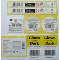 Self-adhesive label back with 3M paper label for customized product Manufactures