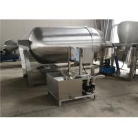 Stainless Steel Meat Tumbler Machine , 1.5kw Hygienic Food Tumbler Machine Manufactures