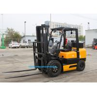 EPA Certificated 3T Manual Diesel Forklift , Reach Truck Forklift 3000mm Lifting Height Manufactures