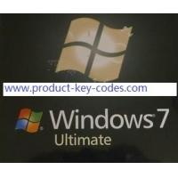 Genuine Windows 7 Ultimate Product Key Manufactures