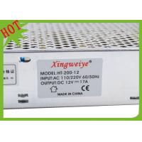 China 200 W Regulated Switching Power Supply 12V 16.7A For LED Strip on sale