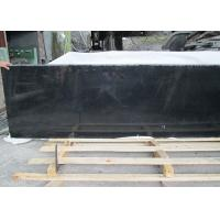 Outdoor Black Polished Granite Floor Tiles , Supreme Large Granite Slabs Manufactures