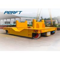 Steel Ladle Transfer Car Electric Rail Transfer Trolley With Carbon Steel Material Manufactures