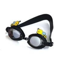 Fashionable Kids Swimming Goggles Black Special Design Multi Function Manufactures