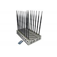 China High Power 16 Antennas Mobile Phone 5G Signal Jammer With 101 Watt For Prison Use Blocking Up to 80M on sale