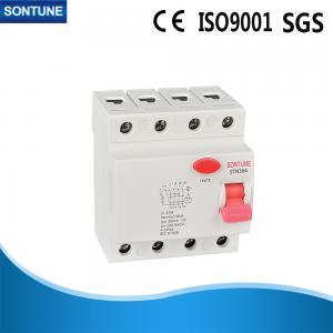 440V 4 Pole RCCB Circuit Breaker 6KA Breaking Capacity IEC 61008 Standard Manufactures