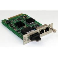 Buy cheap 2 Port 10 / 100 Base-TX To 1 FX Media Converter, 1600 Byte Super Data Packet from wholesalers