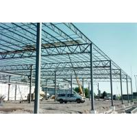 Multi Functional Heavy Steel Building Frame , Hot Dip Galvanized Steel Frame Building Manufactures