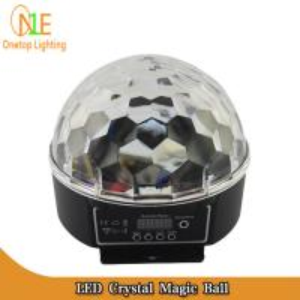 China DJ Light LED crystal magic ball| LED effect light | LED stage light|Guangzhou Stage Light on sale
