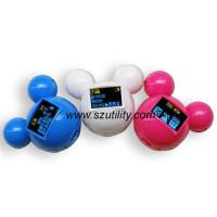 Factory offer New Mini gift MP3 player mickey mouse mp3 player with LCD screen Manufactures