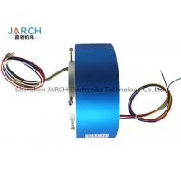 Rotary Index Tables 90mm Through Bore Rotary Slip Ring with Minimal Electrical Circuit Noise