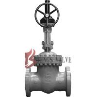 API Cast Steel Fully Open Gate Valve Metal Seat Z40H For Oil / Gas Industry Manufactures