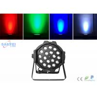 China Indoor 18x10w Rgbw 4 In1 Led Par Can Lights High Brightness Dmx512 on sale