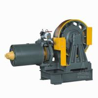 VVVF Drive Geared Elevator Traction Motor , 0.63 ~ 2.5m/s Rated Speed