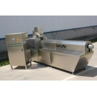 China 250kg / Hr Cereal Corn Flakes Manufacturing Machine / Cereal Snack Machine on sale