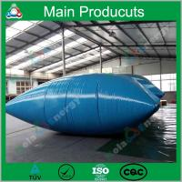 1m3 - 10m3 Pillow/ Onion/ Inflatable Type Water Storage Tank Soft Tarpaulin Water Tank Manufactures