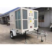 China Outdoor Portable Air Conditioning Units 15HP BTU127500 Ducted Domed Type With Trailer on sale