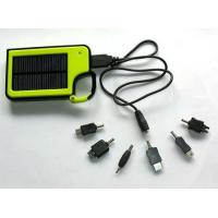 Flexible Mobile Phone Solar portable Cell Charger With CE, ROHS And 5PCS Connectors Manufactures