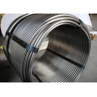 Fluid Transport System Precision Coil Tubing / Metal Pipe Coil 0.5 - 1.0mm WT Manufactures