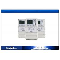 3 Phase Digital Power Meter , LCD Display Smart Electric Energy Meter Manufactures