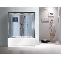 Rectangular Clear Glass Shower Enclosures , Rectangular Shower Stalls Kits Manufactures