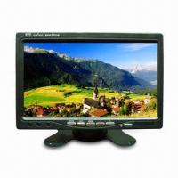 CCTV LCD Monitor with 7-inch Screen Display, 480 x 234 Pixels Resolution and Two-channel Video Input Manufactures