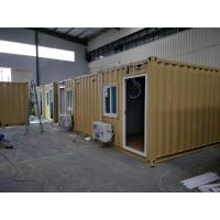 Modified 3x20ft Premade Container Homes Light Steel Prefab House For Mining Industry Manufactures