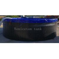 Chongqing Veniceton  30000 Liters wire mesh tank for fish farming Manufactures