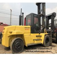Hyster H16.00XM-6 Used Diesel Forklift Truck For Port Lifting Containers Manufactures