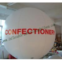 0.18mm helium quality PVC Waterproof Advertising Balloons For Celebration Manufactures