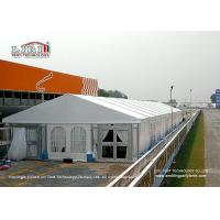 China Luxury Aluminum White Outdoor Tents For Events / Wedding / Party 500 Seater on sale