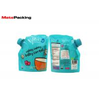 100% Security Food Grade Spout Pouch Custom Logo Printing Organic Baby Food Pouches Manufactures