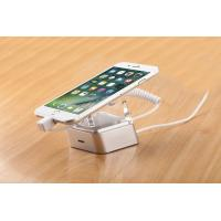 COMER Anti-theft Security Mobile Phone Display Stand Holder with Spring Wire sensor cable and charging cord Manufactures