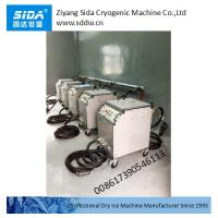 Sida Kbqx-30dg single hose standard dry ice blasting machine for industrial cleaning Manufactures