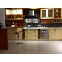 Classic Kitchen Wall Cabinets / Kitchen Sink Unit With Cupboard Gloss Surface Manufactures
