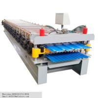 Double Layers Steel Sheet Roll Forming Machine Tile Forming Machine 7.5 Kw Manufactures