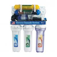 China Auto Flush 7 Stage Reverse Osmosis Water Purification System , Ro Water System For Home on sale