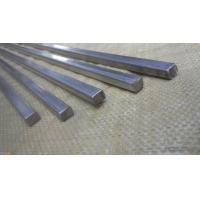 China Large Diameter Square Metal Rod , Solid Stainless Steel Bar High Oxidation Resistance on sale