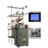 Buy cheap Dual feeder lines and dual colors  computerized socks knitting machine from wholesalers