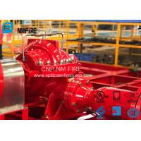 UL FM Approved Split Case Fire Pump 300 Feet For Supermarkets , NFPA20 Standard Manufactures