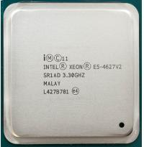China SR1AD 8 Core Intel Xeon 3.3Ghz E5 4627 v2 16M 130 W TDP 33 Clock Multiplier on sale