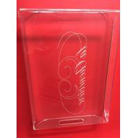 Rectangle Acrylic Holder Stand Transparent Eco - Friendly Durable Manufactures
