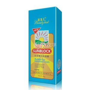 Multiple SPF 30 Butter Cream Lotion Sunscreen OEM/ODM For Adult Female Gender