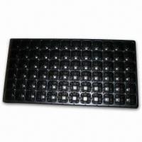 0.6mm Plastic Seed Tray with One Time Usage, Ideal for Greenhouse, Farm, Garden and Roof Manufactures