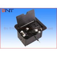 Aluminum Alloy Manual Black Table Cable Cubby Slip Up Universal Standard Manufactures