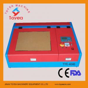 Desktop Mini laser engraver machine with square linear rail TYE-4040 Manufactures